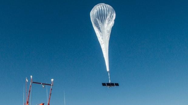Loon: Alphabet holt seine Internet-Ballons vom Himmel