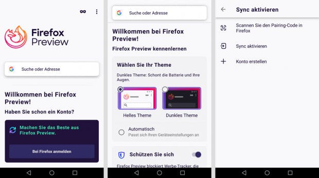 Mozilla: Firefox Preview, Projektname Fenix