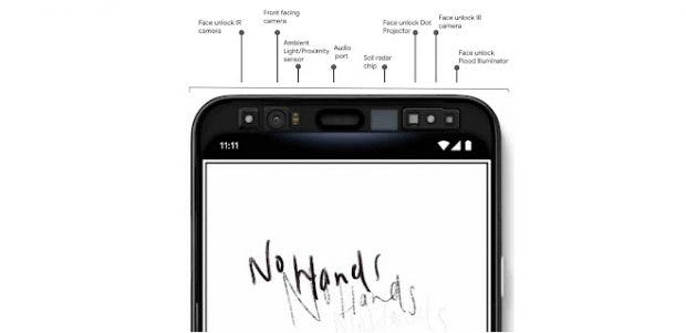 Pixel 4 kommt mit Soli-Technologie und Face Unlock
