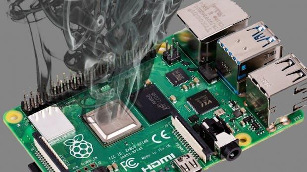 Bastelrechner: Firmware für Raspberry Pi 4 verringert Hitzeprobleme