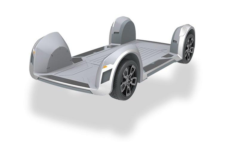 Innovatives E-Auto-Konzept verbannt Motor und Co. in den Reifen