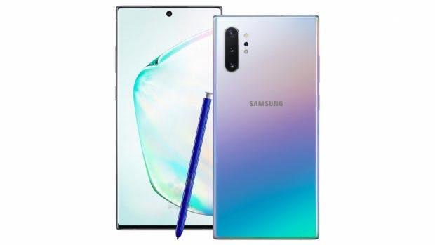 Geleakt: Das Samsung Galaxy Note 10 Plus. (Bild: Winfuture)
