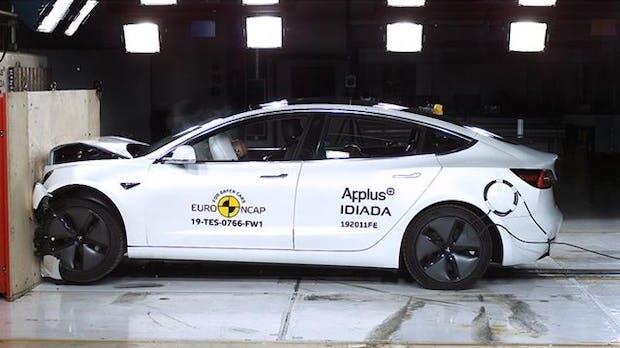 Tesla Model 3 im Crashtest mit Bestwertung