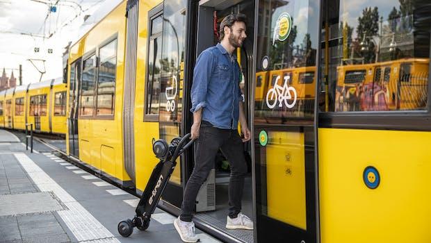 Audi E-Tron Scooter. (Foto: Audi)
