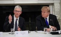 Gespräch mit Trump: Apple-Chef besorgt über Wettbewerbsnachteil durch US-Zölle