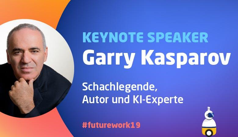 Keynote-Speaker Garry Kasparov eröffnet die FUTUREwork 2019