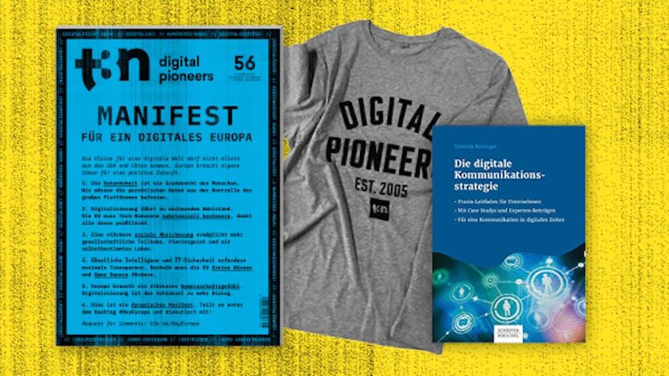 """Sichere dir das Fachbuch """"Die digitale Kommunikationsstrategie"""" zu deinem t3n Abo!"""