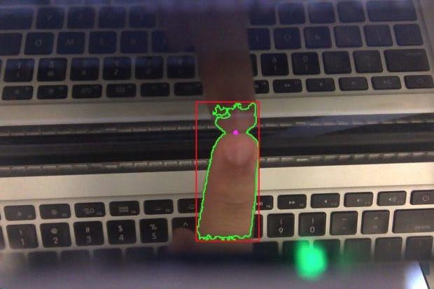 Macbook-Bildschirm wird zum per Fingertipp bedienbaren Touchscreen