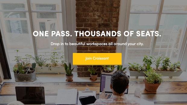 Croissant: Mit dieser App kannst du überall auf der Welt Coworking-Spaces nutzen
