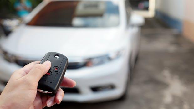 Neue Technologie soll Autodiebstahl über Funkschlüssel verhindern