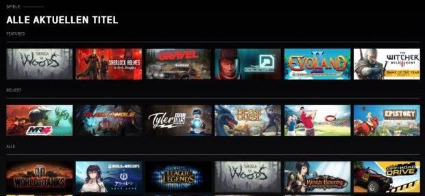Magenta Gaming: Auswahl von Spielen für den Game-Streamingdienst der Telekom