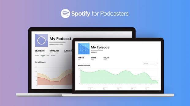 Spotify for Podcasters: Dashboard mit Analytics geht an den Start