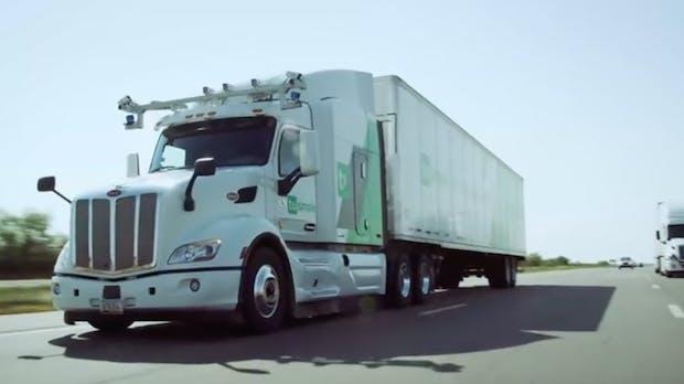 UPS lässt Waren mit selbstfahrenden Lkws transportieren