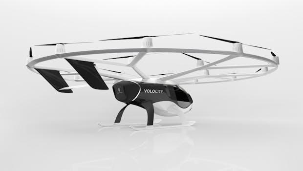 Volocopter-Flugtaxi Volocity. (Foto: Volocity)