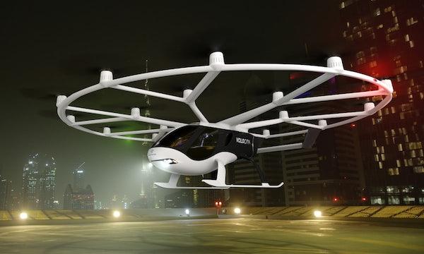 Flugtaxi für die Innenstadt: Volocopter stellt Volocity vor