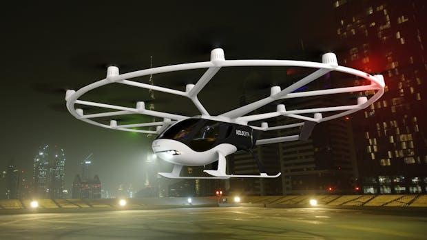 Chinesischer Autokonzern steckt 50 Millionen Euro in Volocopter