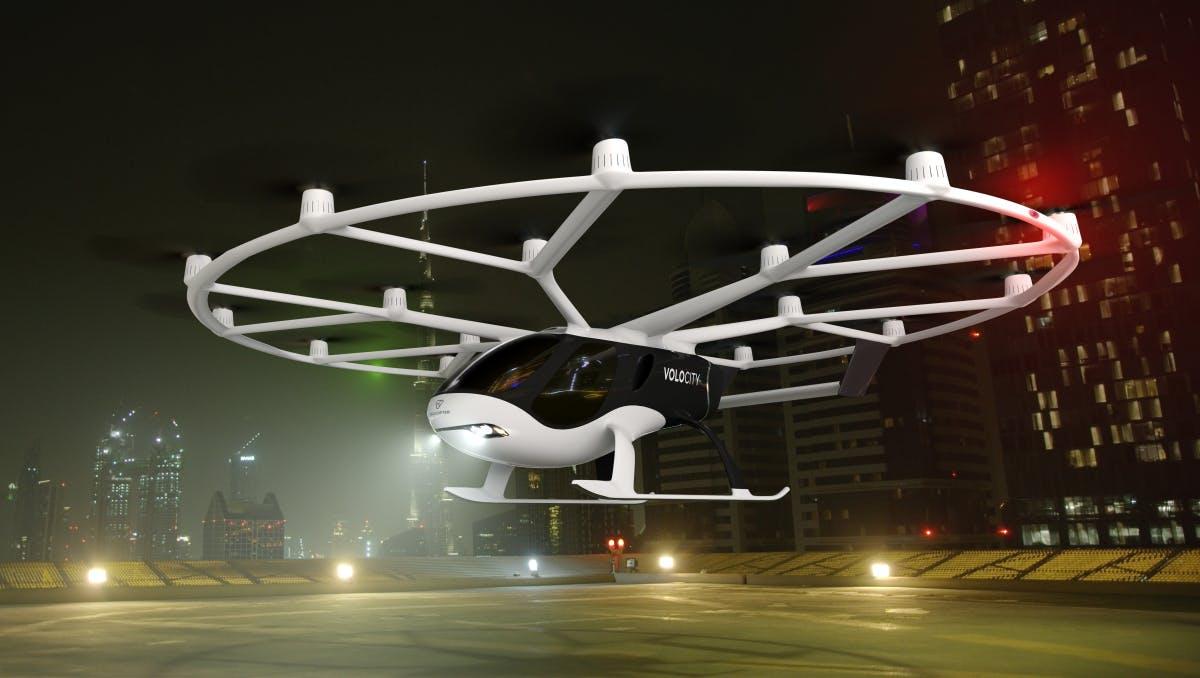 Volocity: Volocopter stellt neues Flugtaxi für den Stadtverkehr vor