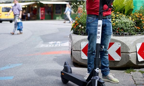 E-Scooter: Bird startet in Berlin, München, Hamburg, Frankfurt und Köln