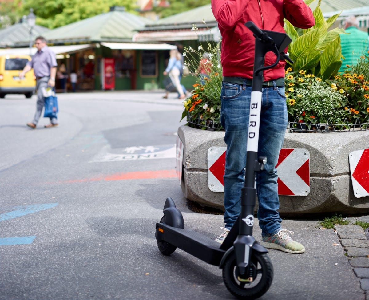 E-Scooter-Schwergewicht Bird startet in fünf deutschen Städten