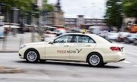 Mietwagen mit Fahrer: Free Now startet neuen Service in Berlin