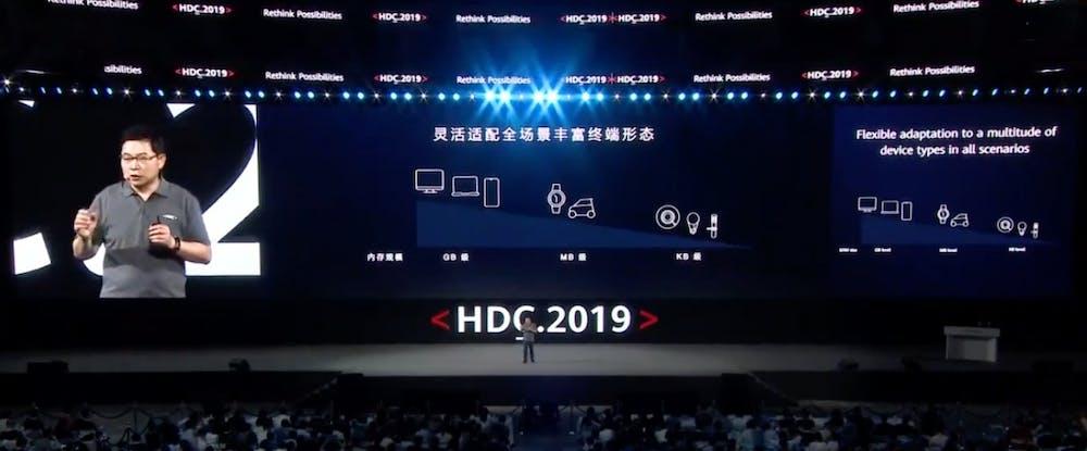 Huawei Harmony OS. (Screenshot: t3n)