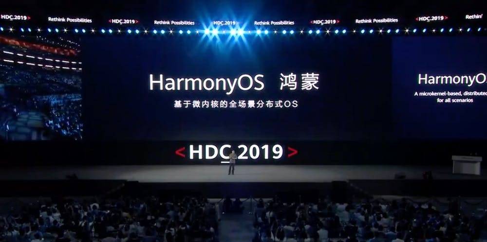 Huawei Harmony OS. (Screenshot: ten)