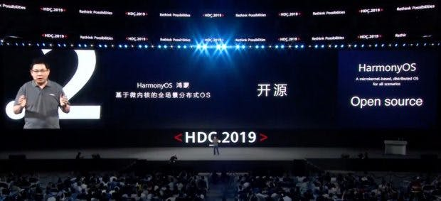 Huaweis Harmony OS ist Open Source. (Screenshot: t3n)