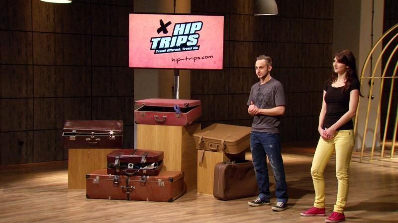 Die Hiptrips-Gründer stellen ihr Portal für Erlebnisreisen vor. (Foto: TVNOW / Bernd-Michael Maurer)
