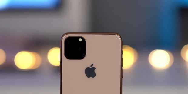 Mit Triple-Cam auf der Rückseite: So soll das iPhone 11 (Max) aussehen. (Bild: 9to5 Mac)