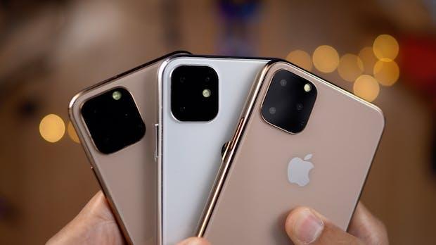 iPhone 11 Pro und 11 Pro Max: So sehen sie aus, das steckt wohl drin