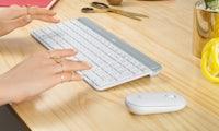 MK470 Slim Combo: Logitech kündigt günstiges kabelloses Keyboard-Maus-Set an