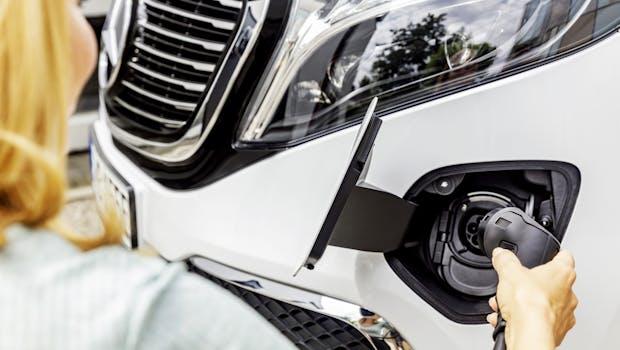 Mercedes-Benz EQV. (Foto: Daimler)