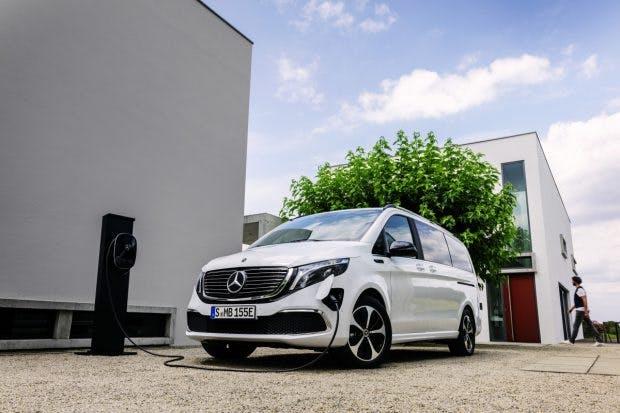 Mercedes Benz EQV. (Foto: Daimler) Mercedes Benz EQV. (Foto: Daimler)