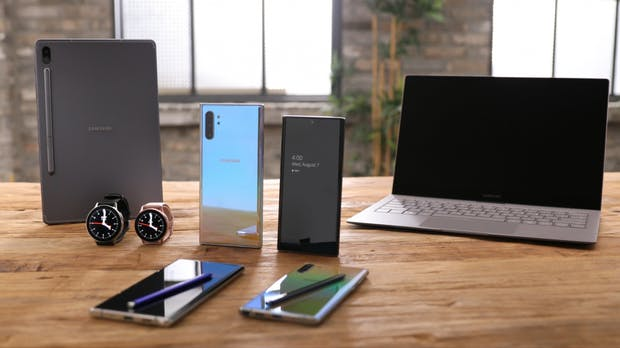 Apps fürs Galaxy Note 10: Microsoft und Samsung bauen Partnerschaft aus