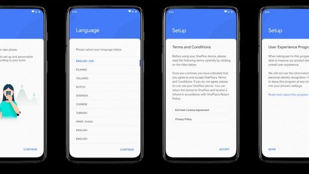 So könnte OxgenOS auf Basis von Android 10 Q aussehen. (Bild: Léandro Tijink)