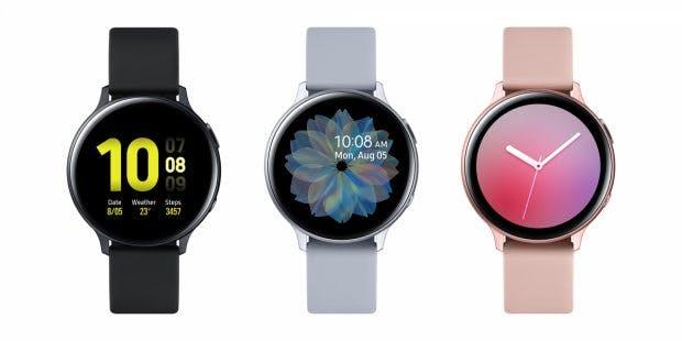 Samsung Galaxy Watch Active 2 Aluminum 40mm. (Bild: Samsung)