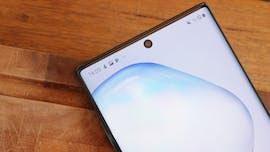 Samsung Galaxy Note 10 (Plus) – wenig Rand, viel Display. (Foto: t3n)
