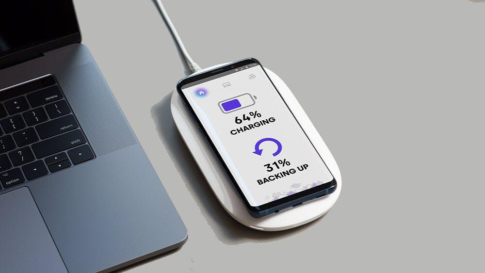 Von wegen Cloud: Western Digital bringt drahtlose Lade- und Backup-Lösung für iPhones und Android-Smartphones
