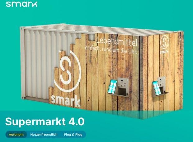 Die Smarkbox von Smark: Autonomer Laden im Seecontainer