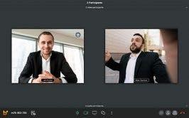 Blizz von Teamviewer möchte besonders durch simple Videokonferenzen mit hoher Videoqualität glänzen. (Screenshot: Blizz)