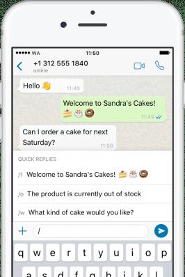 Whatsapp Business erweitert den Messenger und grundlegende Funktionen für Kundenkontakt und Management für kleine Unternehmen. (Screenshot: Whatsapp)