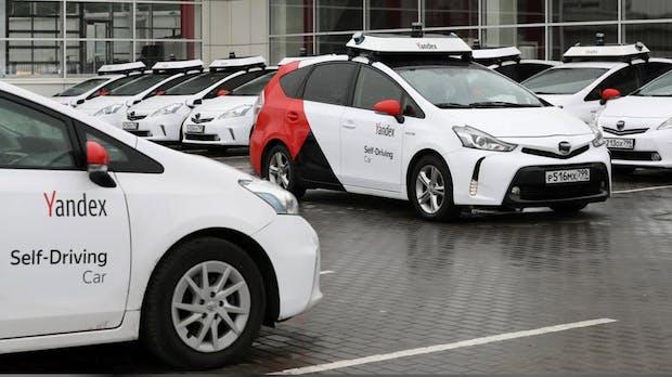 Yandex will seine autonome Fahrzeugflotte verzehnfachen