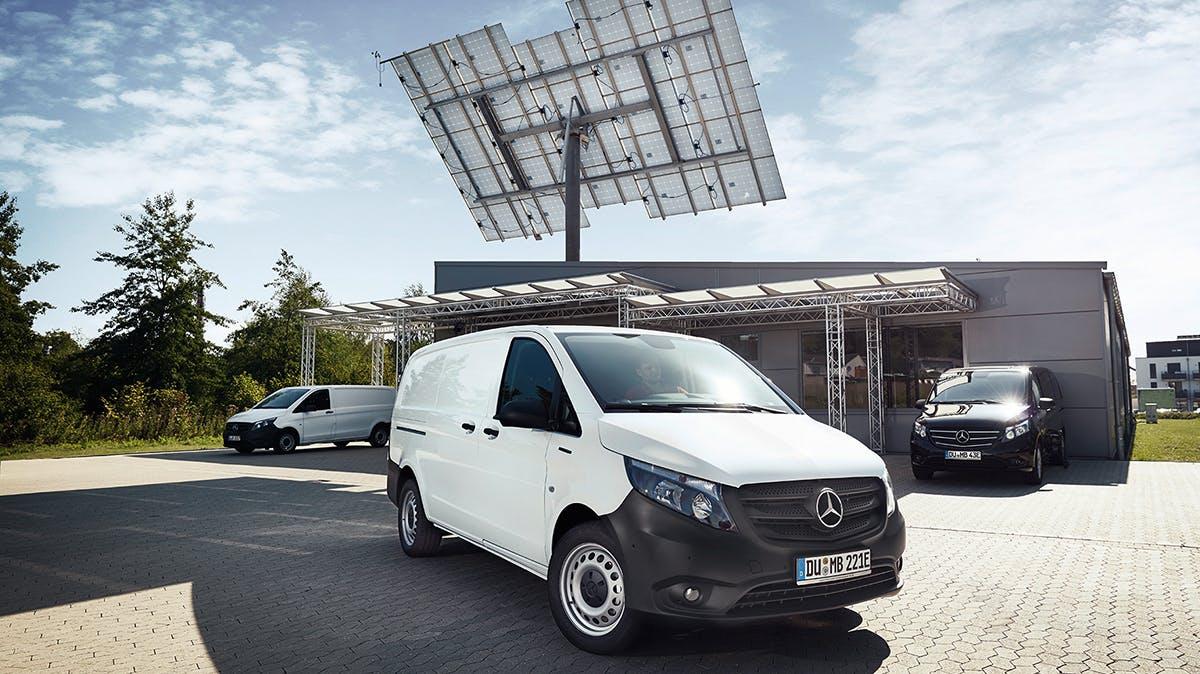 E-Transporter eVito überzeugt mit Leistung und digitalen Diensten