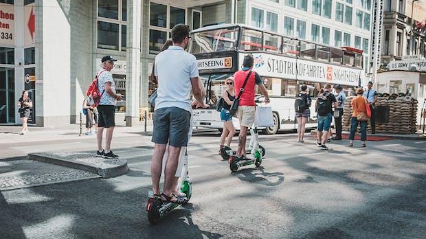 E-Scooter-Studie: GfK attestiert Startschwierigkeiten