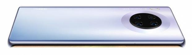 Huawei Mate 30 Pro Silber. (Bild: Huawei)