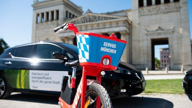 Uber bringt Verleih von Jump-E-Bikes nach München