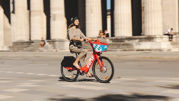 Uber bringt Jump-E-Bikes nach München. (Foto: Uber)