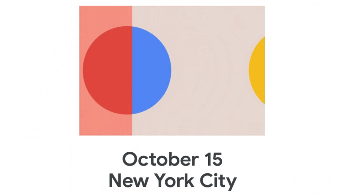 """Made by Google""-Event: Pixel 4 kommt am 15. Oktober"