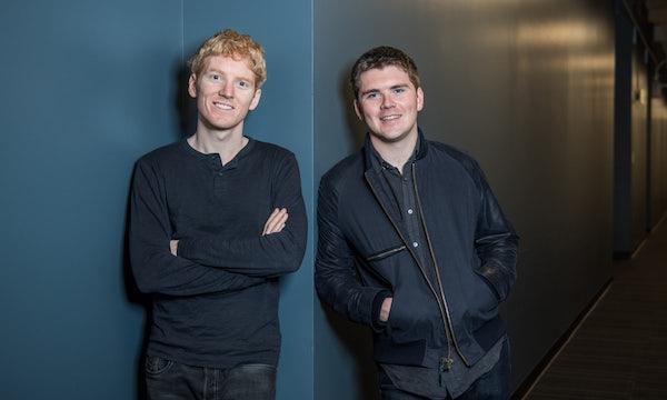 Stripe: Collison-Brüder nach Kapitalspritze reichste irische Selfmade-Milliardäre