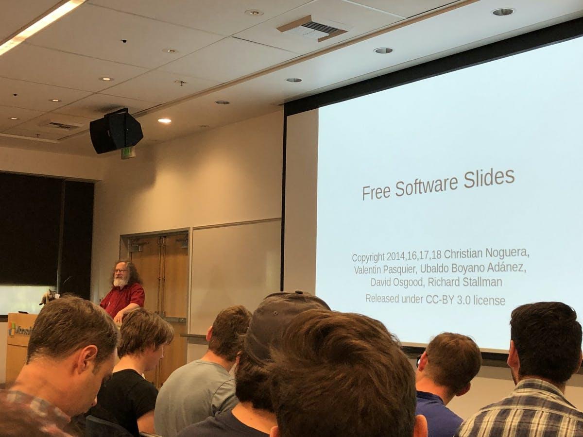 Software-Hölle friert zu: Open-Source-Legende Richard Stallmann von Microsoft zum Gespräch geladen
